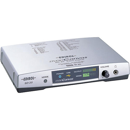 Edirol SD-20 Studio Canvas MIDI Sound Module