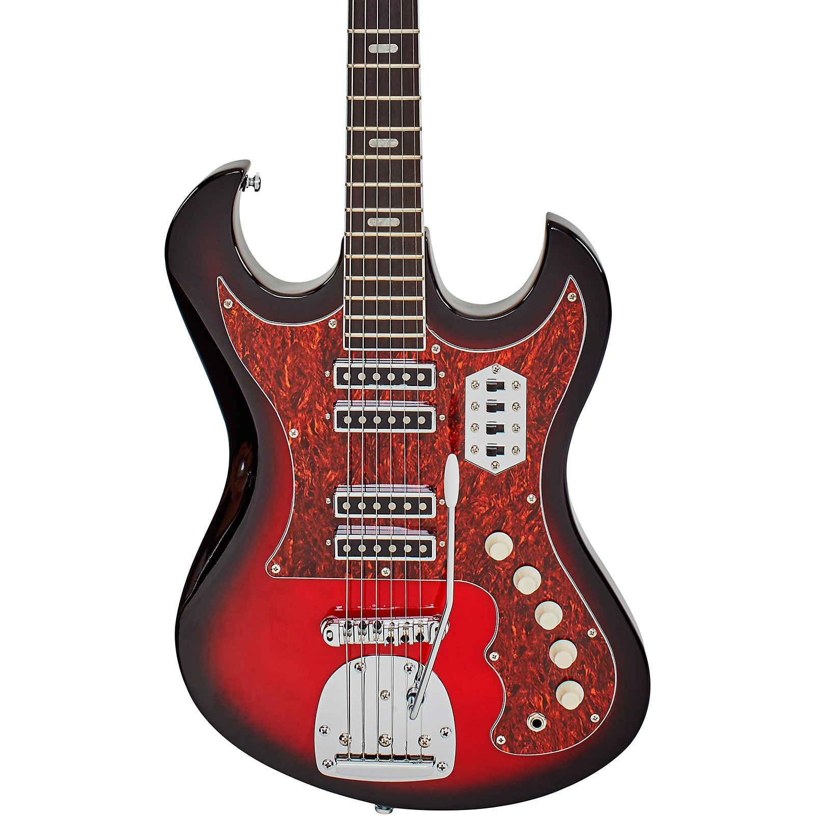 Eastwood SD-40 Hound Dog Electric Guitar