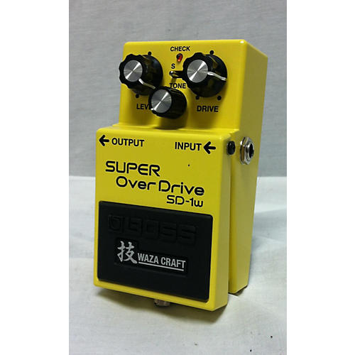 SD1W Super Overdrive Waza Craft Effect Pedal