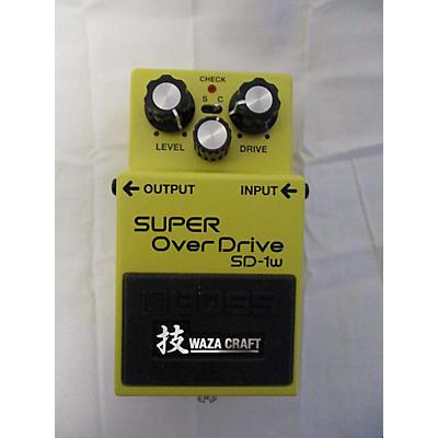 Boss SD1W Super Overdrive Waza Craft Effect Pedal