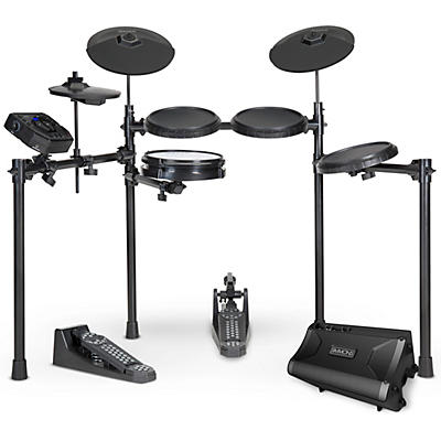 Simmons SD200 Electronic Drum Kit with Mesh Pads and DA2108 Drum Set Monitor