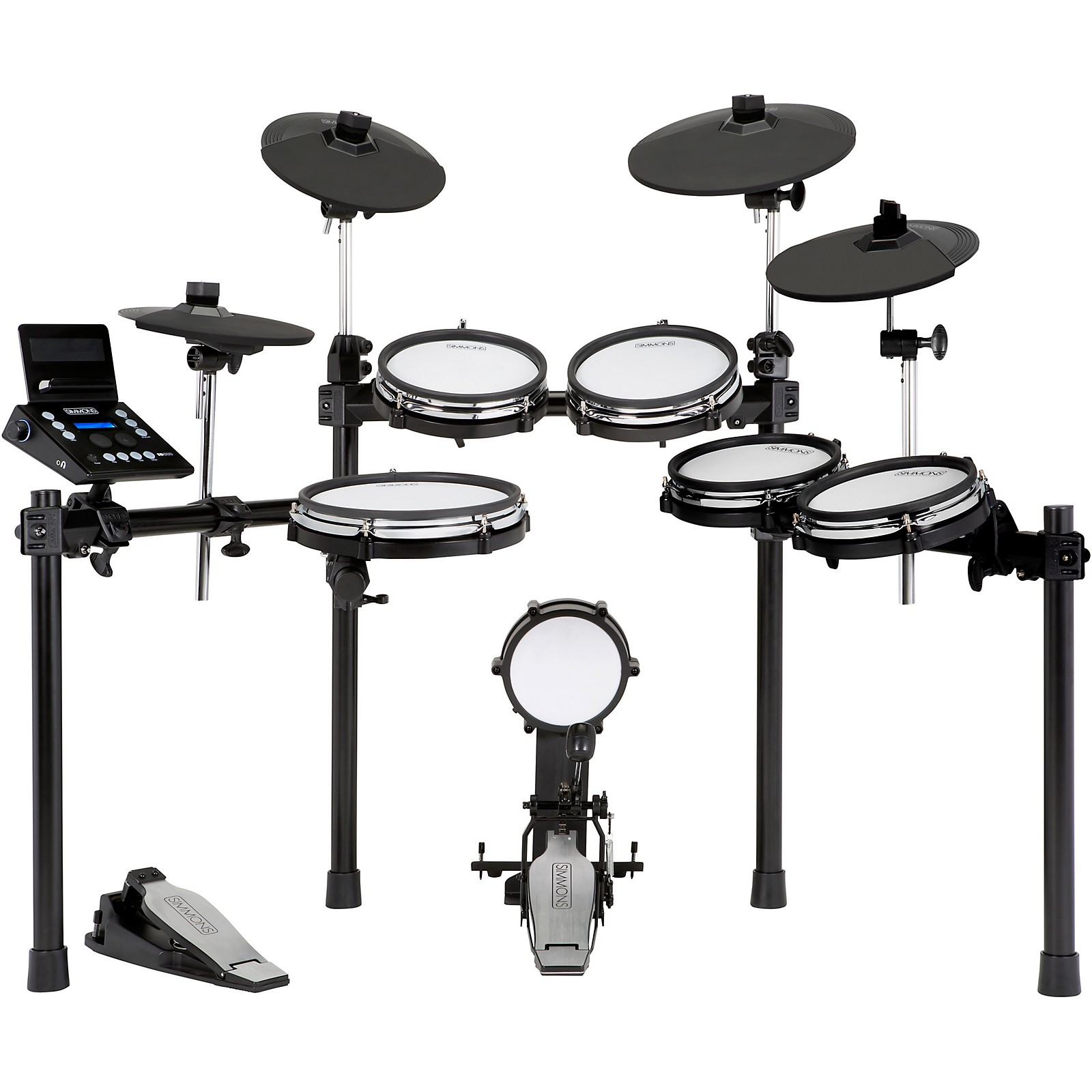 Simmons SD600 Expanded Electronic Drum Kit with Mesh Pads and Bluetooth  Musician's Friend