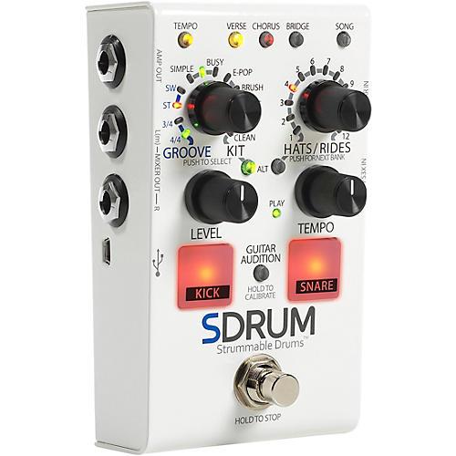 Digitech SDRUM Auto-Drummer Pedal with BeatScratch Pads Condition 1 - Mint