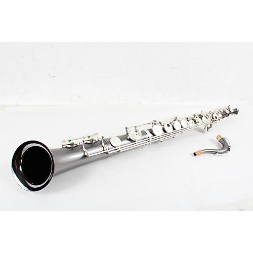 Sax Dakota SDTS-1022 Professional Straight Tenor Saxophone Condition 3 - Scratch and Dent Gray Onyx 194744157851