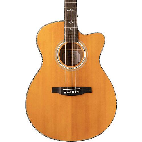 PRS SE A50E Acoustic-Electric Guitar Charcoal Burst