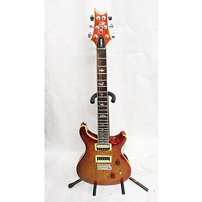 PRS SE Custom 24 Exotic Top Laurel Burl Solid Body Electric Guitar