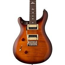 SE Custom 24 Lefty Electric Guitar Tobacco Sunburst