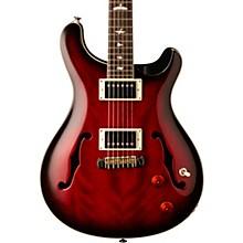 SE Hollowbody Standard Electric Guitar Fire Red Burst