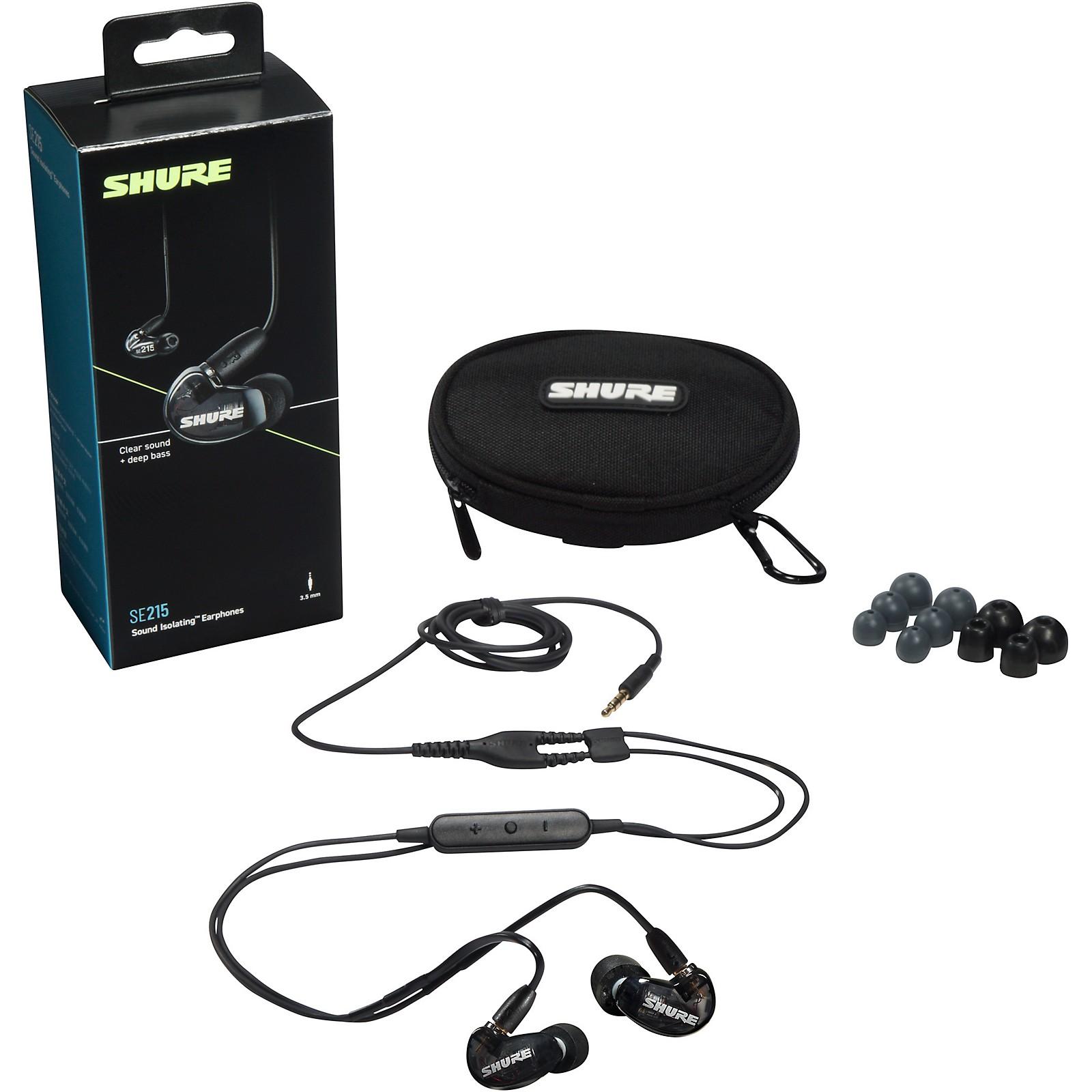Shure SE215 Sound Isolating Earphones
