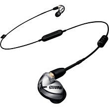 Open BoxShure SE425 Sound Isolating Earphones, Silver with Bluetooth 4.1 communication cable