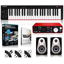 SE49 49-Key USB MIDI Keyboard Controller Packages Advanced Production Package