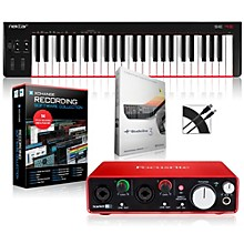 SE49 49-Key USB MIDI Keyboard Controller Packages Intermediate Recording Package