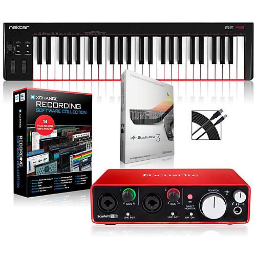 Nektar SE49 49-Key USB MIDI Keyboard Controller Packages