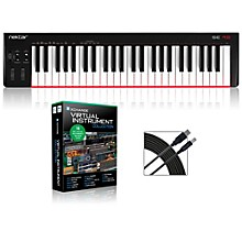 SE49 49-Key USB MIDI Keyboard Controller Packages Virtual Instrument Package