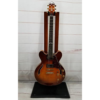 Crafter Guitars SEG-480TM Hollow Body Electric Guitar
