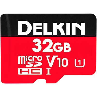 Delkin SELECT MicroSDHC Memory Card