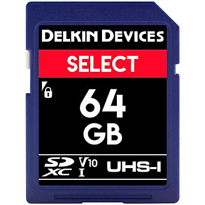 Delkin SELECT SDHC Memory Card