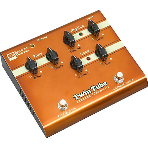 SFX-03 Twin Tube Classic Preamp Pedal