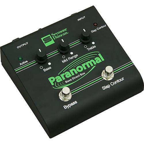 Seymour Duncan SFX-06 Paranormal Bass EQ Direct Box | Musician\'s Friend