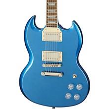 SG Muse Solidbody Electric Guitar Radio Blue Metallic
