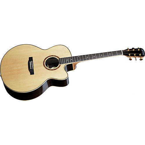 Great Divide SGJ-28CE-G Solid Sitka Spruce Top Jumbo Acoustic Electric Cutaway Guitar