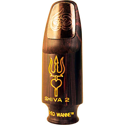 Theo Wanne SHIVA 2 Red Marble Soprano Saxophone Mouthpiece