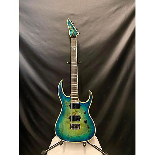 B.C. Rich SHREDZILLA EXTREME EXOTIC Solid Body Electric Guitar Cyan Blue