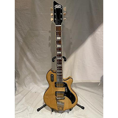 Supro SILVERWOOD Solid Body Electric Guitar