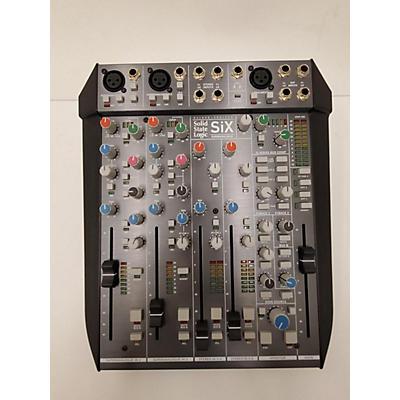 Solid State Logic SIX Superanalogue Mixer