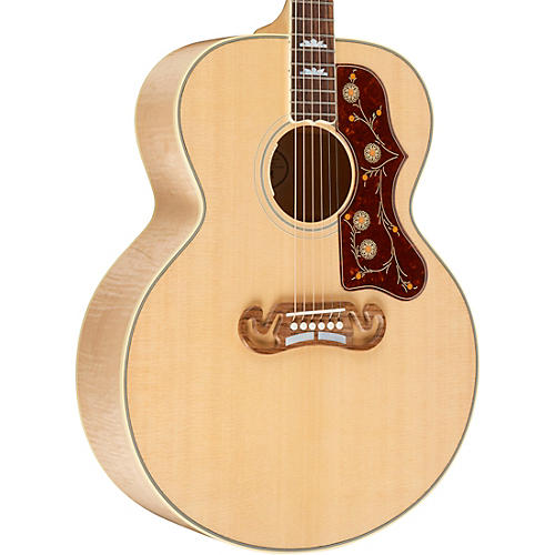 Gibson SJ-200 Standard Acoustic-Electric Guitar Antique Natural