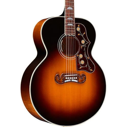 Gibson SJ-200 Standard Acoustic-Electric Guitar Vintage Sunburst |  Musician's Friend