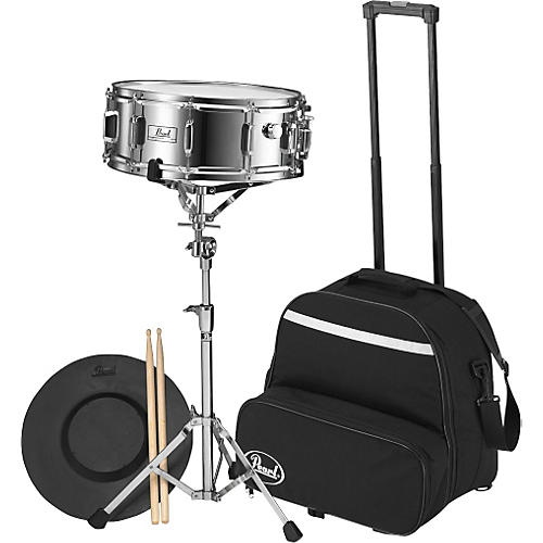 Pearl SK-800C Steel Snare with Rolling Cart