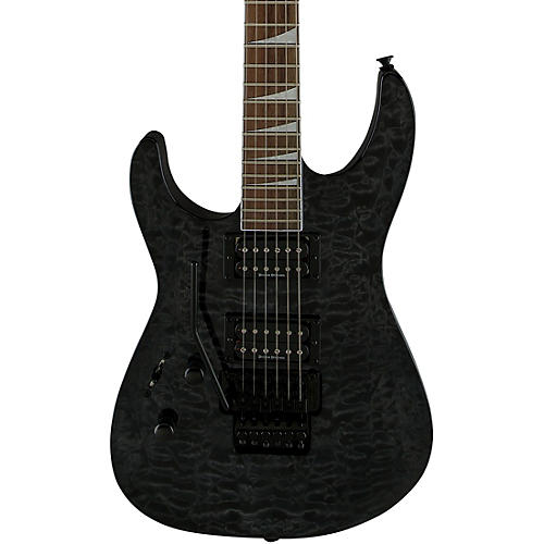 Jackson SLX LH Left-Handed Electric Guitar Transparent Black