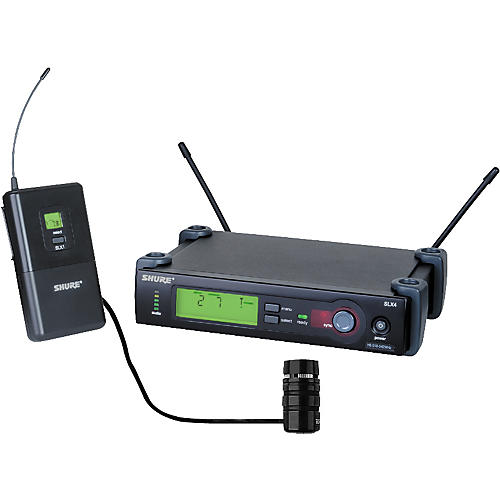 Shure SLX Wireless Instrument System with Beta 98H Horn Microphone