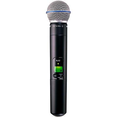 Shure SLX2/Beta58 Wireless Handheld Transmitter Microphone
