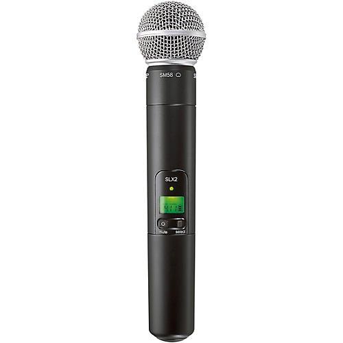 Shure SLX2/SM58 Wireless Handheld Microphone