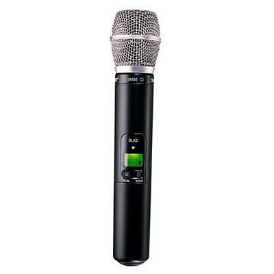 Shure SLX2/SM86 Wireless Handheld Transmitter Microphone