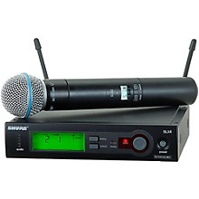 Shure SLX24/BETA58 Wireless Handheld Microphone System