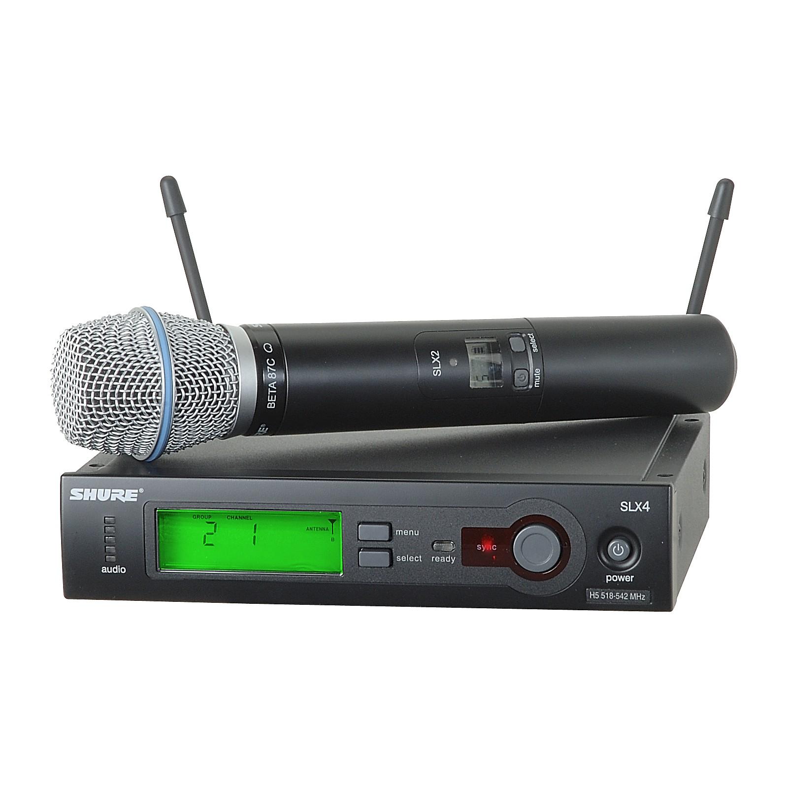 Shure SLX24/BETA87C Wireless Microphone System