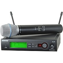 Open Box Shure SLX24/BETA87C Wireless Microphone System