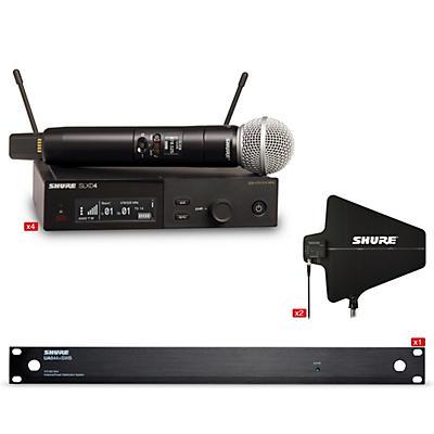 Shure SLXD 4 Handheld Wireless Microphone With Antenna Bundle