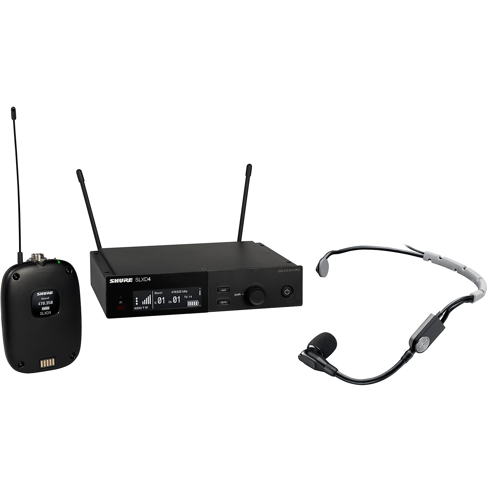 Shure SLXD14/SM35 Combo Wireless Microphone System