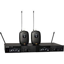 SLXD14D Dual Combo Wireless Microphone System Band G58