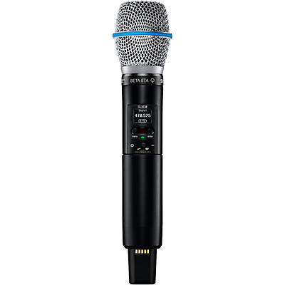 Shure SLXD2/B87A Handheld Transmitter with Beta 87A Capsule