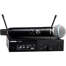 SLXD24/B58 Wireless Vocal System with BETA 58 Band G58