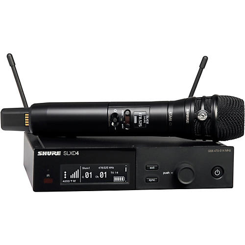 Shure SLXD24/K8B Wireless Vocal Microphone System with KSM8 Band H55