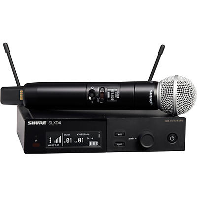 Shure SLXD24/SM58 Wireless Vocal Microphone System with SM58