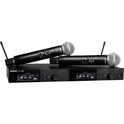 Shure SLXD24D/SM58 Dual Wireless Vocal Microphone System with SM58