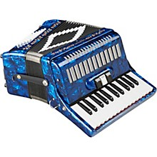 SM-2648, 26 Piano 48 Bass Accordion Dark Blue Pearl