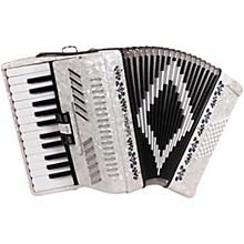 SM-2648, 26 Piano 48 Bass Accordion White Pearl